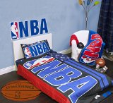 Exclusive NBA Collection 4 Pcs Twin Comforter Quilt & Sheet Set Official Licensed New