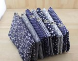 7 Pc Cloth Fabric Cotton Fabric for Quilting 50*50cm – Dark Blue Series