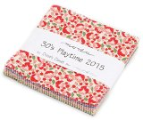 30's Playtime 2015 Charm Pack By Chloe's Closet; 42 – 5″ Precut Fabric Quilt Squares