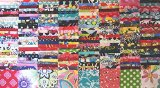 200 Assorted pre cut charm pack 2.5