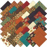 Forest Fancy Moda Charm Pack By Deb Strain; 42 – 5″ Precut Fabric Quilt Squares