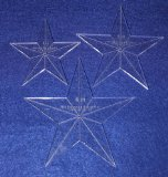 Star Template 3 Piece Set. 4