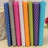 KINGSO 8PCS Cotton Fabric Bundles Quilting Sewing DIY Craft 19.7×19.7inch Polka Dot