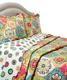 Pegasus Home Fashions Vintage Collection Lena Quilt/Sham Set, Full/Queen