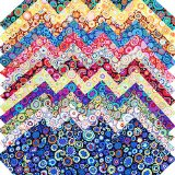 Kaffe Fassett PAPERWEIGHT Entire Collection Precut 5-inch Cotton Fabric Quilting Squares Charm Pack Assortment Westminster Fibers